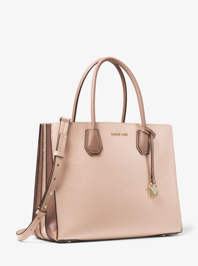 Michael Kors Leather 30t8tm9t3l Tote in Soft pink