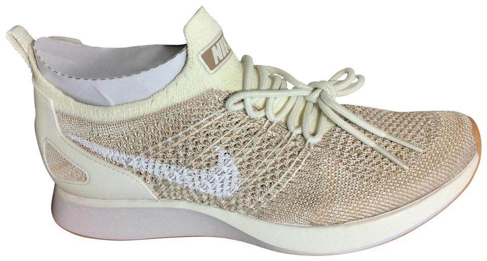3bf4a9006515 Nike Sail White-sand-gum Yellow Air Zoom Mariah Flyknit Racer Sneakers