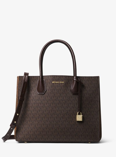 Michael Kors Canvas 30f8gm9t9b Tote in Brown