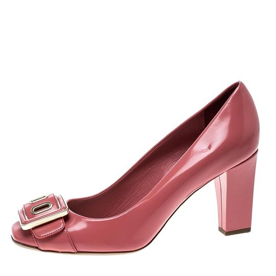 Preload https://item1.tradesy.com/images/dior-pink-leather-buckle-detail-block-pumps-size-eu-365-approx-us-65-regular-m-b-23973130-0-0.jpg?width=440&height=440