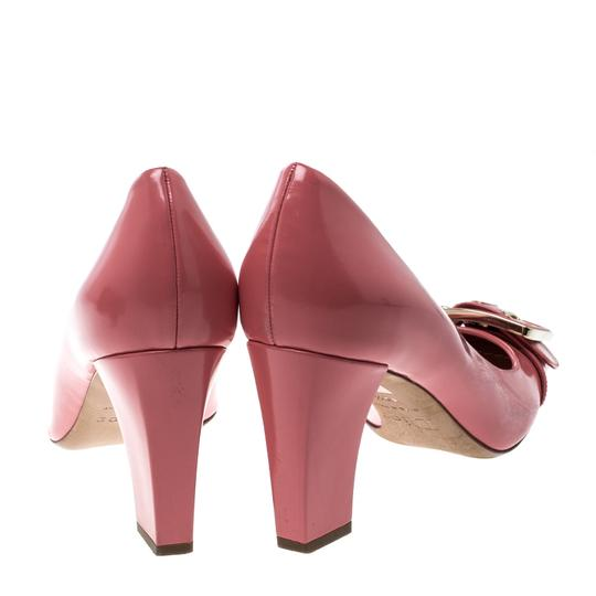 Dior Leather Detail Pink Pumps
