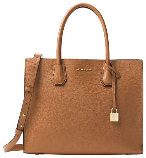Michael Kors Leather 30f6gm9t3l Tote in Acorn