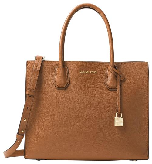 Preload https://item2.tradesy.com/images/michael-kors-mercer-large-30f6gm9t3l-luggage-leather-tote-23973161-0-1.jpg?width=440&height=440