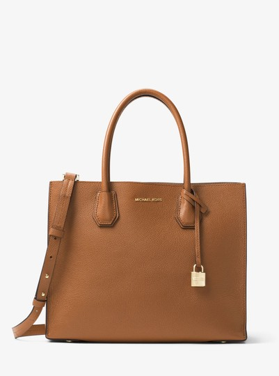 Michael Kors Leather 30f6gm9t3l Tote in Luggage