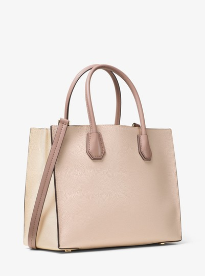 Michael Kors Leather 30s7gm9t3l Tote in Soft Pink