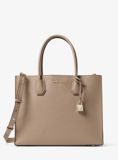 Michael Kors Leather 30t8tm9t3t Tote in Truffle