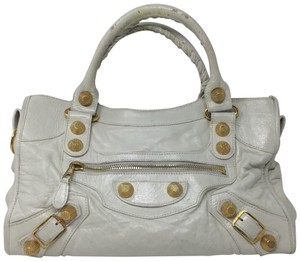 Balenciaga Satchel in ivory