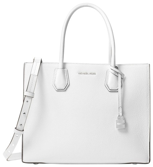 Preload https://item1.tradesy.com/images/michael-kors-mercer-large-30f6sm9t3l-optic-white-leather-tote-23973200-0-1.jpg?width=440&height=440