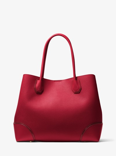 Michael Kors Leather 30h7gz5t7a Satchel in Maroon