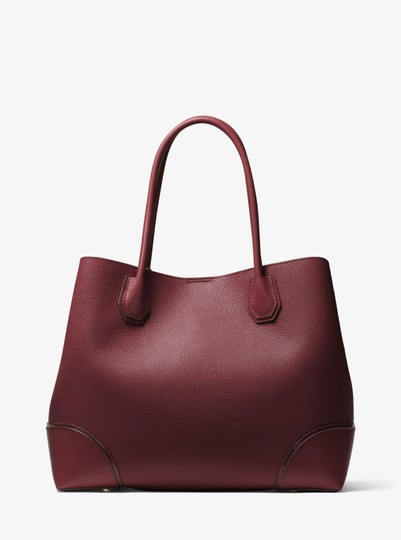 Michael Kors Leather 30h7gz5t7a Satchel in Oxblood