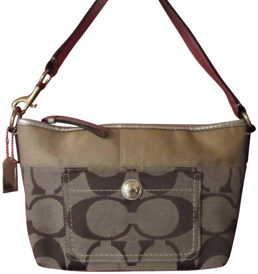 Preload https://item4.tradesy.com/images/coach-mini-11688-multicolor-canvas-and-genuine-leather-tote-23973218-0-1.jpg?width=440&height=440
