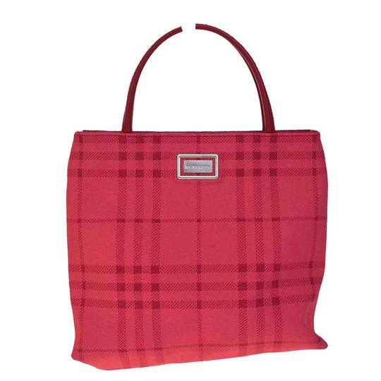 Preload https://item2.tradesy.com/images/burberry-logos-nova-check-pink-red-rubber-leather-tote-23973251-0-0.jpg?width=440&height=440