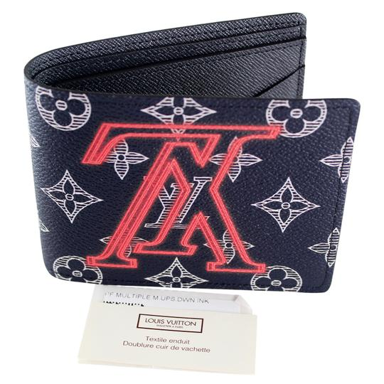 Preload https://item1.tradesy.com/images/louis-vuitton-blue-rare-limited-edition-6514-upside-down-monogram-wallet-23973260-0-0.jpg?width=440&height=440
