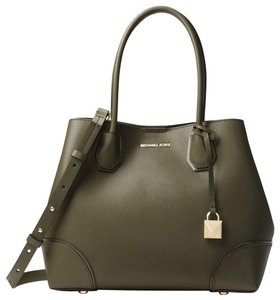 Michael Kors Leather 30h7gz5t6a Satchel in Olive