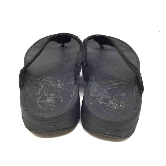 FitFlop Dri-fit Us 8 S052218-24 Black Sandals
