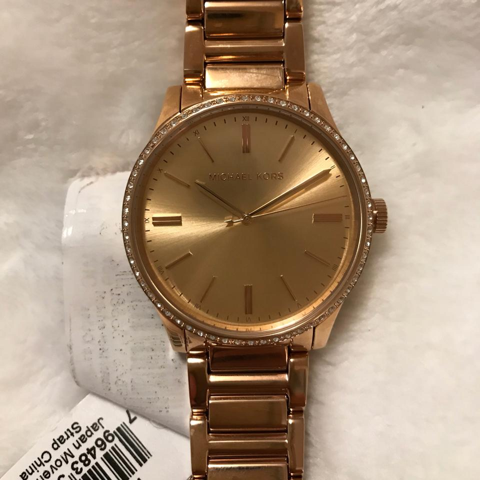e7d55f2eb9eb MICHAEL Michael Kors Bailey Rose Gold-Tone 38mm Watch MK3809 Image 4. 12345