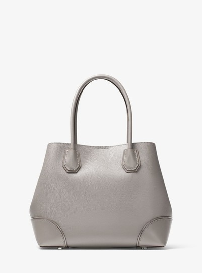Michael Kors Leather 30h7sz5t6a Satchel in Pearl Grey
