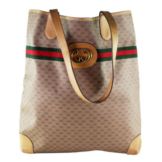 Preload https://item3.tradesy.com/images/gucci-abbey-webby-gg-supreme-vintage-shoulder-leather-6510-brown-canvas-tote-23973312-0-1.jpg?width=440&height=440