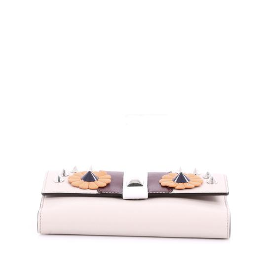Fendi Wallet Trifold taupe Clutch
