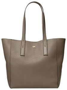 Michael Kors Leather 30t8tx5t3l Tote in Mushroom