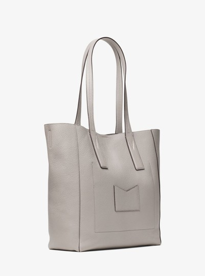 Michael Kors Leather 30t8tx5t3l Tote in Pearl Grey