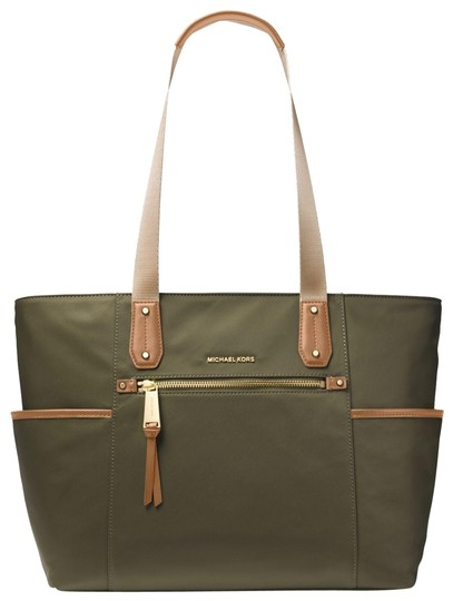 Preload https://item2.tradesy.com/images/michael-kors-polly-large-30t8gp5t3c-olive-nylon-tote-23973356-0-1.jpg?width=440&height=440