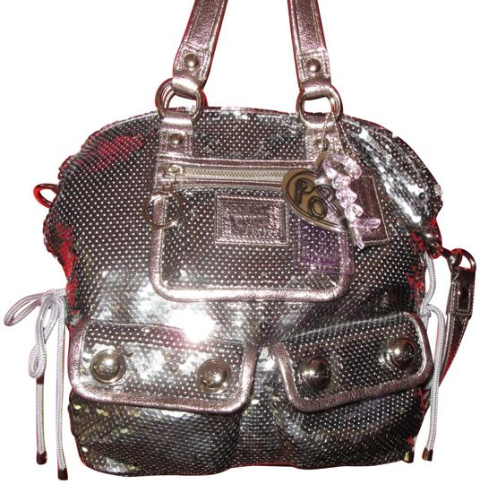 Preload https://item4.tradesy.com/images/coach-poppy-spotlight-silver-sequins-and-leather-tote-23973358-0-1.jpg?width=440&height=440