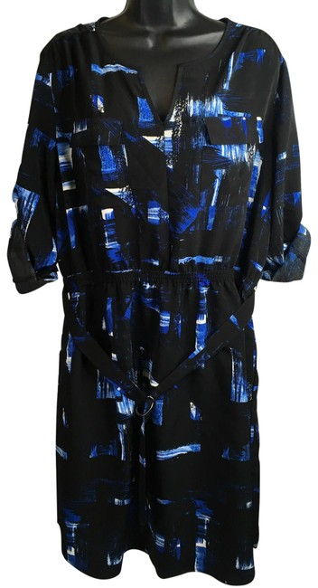 Preload https://img-static.tradesy.com/item/23973377/mossimo-supply-co-black-blue-women-s-and-sheers-flowy-34-sleeves-blouse-size-18-xl-plus-0x-0-1-650-650.jpg