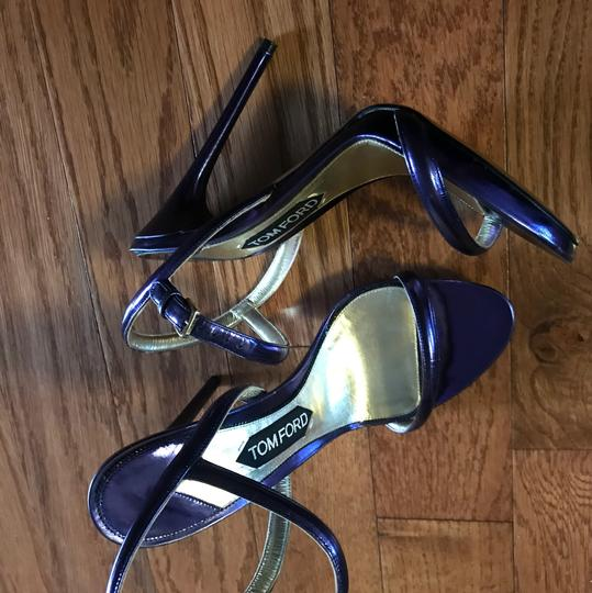 Tom Ford Purple Sandals