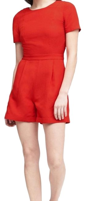 Preload https://item1.tradesy.com/images/banana-republic-red-br-linen-romperjumpsuit-size-8-m-23973385-0-1.jpg?width=400&height=650