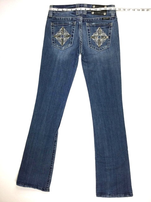Miss Me 26 Embellished J051918-40 Boot Cut Jeans