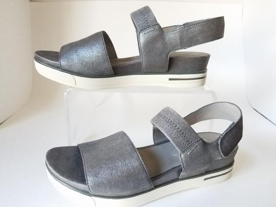 Eileen Fisher silver Sandals