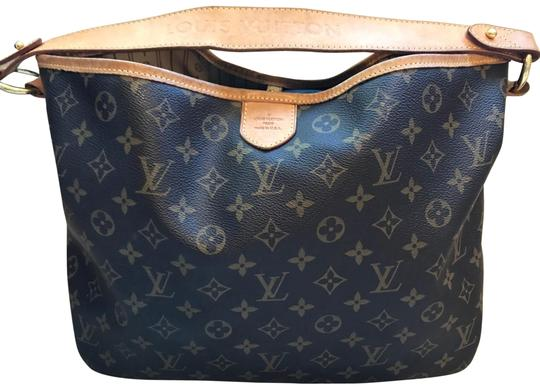 Preload https://item2.tradesy.com/images/louis-vuitton-delightful-gently-used-monogram-leather-canvas-shoulder-bag-23973446-0-1.jpg?width=440&height=440