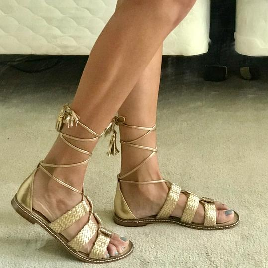 Michael Kors golden Flats