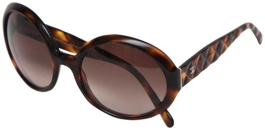 Preload https://item4.tradesy.com/images/chanel-brown-round-tortoise-quilted-5120-c50213-sunglasses-23973508-0-1.jpg?width=440&height=440