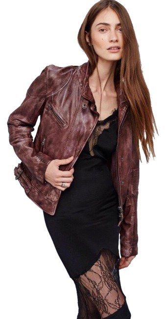 Preload https://item2.tradesy.com/images/free-people-brown-fitted-and-rugged-leather-nwot-motorcycle-jacket-size-2-xs-23973531-0-1.jpg?width=400&height=650