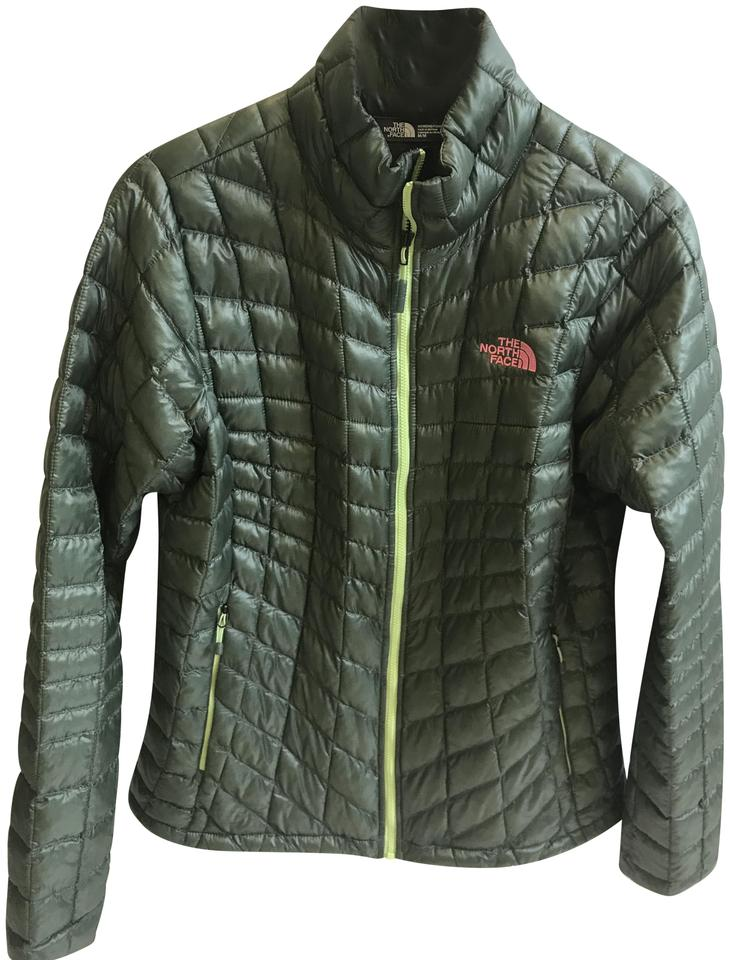 4f8505fa08 The North Face Glossy Olive Green Jacket Size 8 (M) - Tradesy