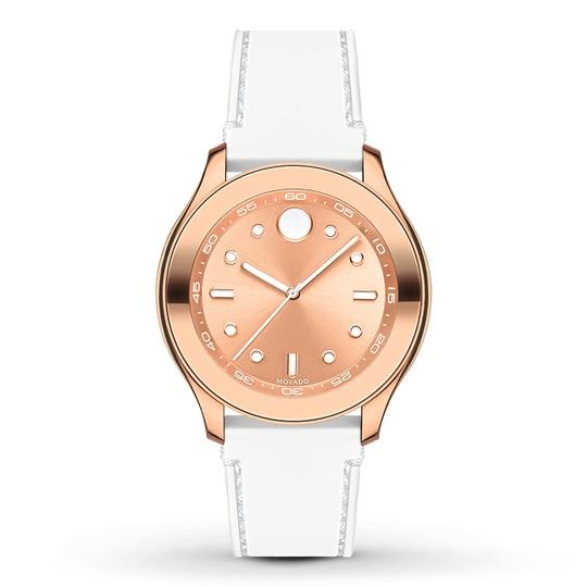 Preload https://item5.tradesy.com/images/movado-white-silicone-strap-rose-gold-dial-bold-3600411-swiss-sport-watch-23973544-0-0.jpg?width=440&height=440