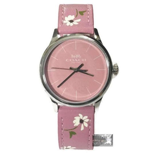 Preload https://item2.tradesy.com/images/coach-pink-ruby-limited-edition-leather-strap-daisy-floral-w1546-watch-23973576-0-0.jpg?width=440&height=440