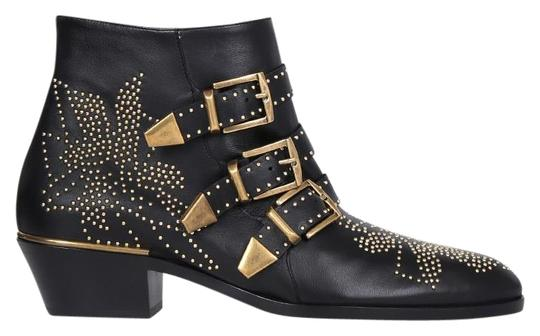 Preload https://item1.tradesy.com/images/chloe-black-and-gold-susanna-leather-bootsbooties-size-eu-365-approx-us-65-regular-m-b-23973600-0-1.jpg?width=440&height=440