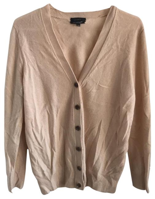 Preload https://item3.tradesy.com/images/jcrew-beige-with-cashmere-cardigan-sweaterpullover-size-4-s-23973607-0-1.jpg?width=400&height=650