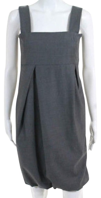 Preload https://item1.tradesy.com/images/max-mara-gray-mid-length-workoffice-dress-size-4-s-23973620-0-1.jpg?width=400&height=650