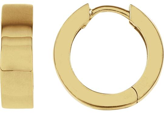 Preload https://item5.tradesy.com/images/yellow-gold-hinged-hoop-in-14k-earrings-23973634-0-1.jpg?width=440&height=440