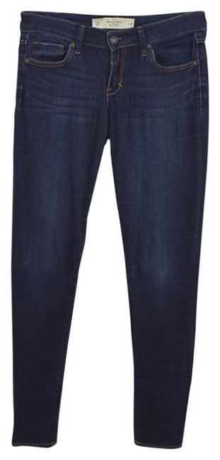 Preload https://item5.tradesy.com/images/abercrombie-and-fitch-dk-wash-dark-rinse-150-4-skinny-jeans-size-26-2-xs-23973679-0-1.jpg?width=400&height=650