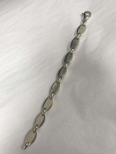 Tiffany & Co. Tiffany and Co. Sterling Silver Pebbal Oval Link Bracelet