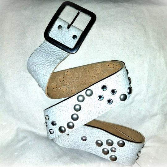 Preload https://item3.tradesy.com/images/saks-fifth-avenue-dirty-white-rustic-crystal-studded-belt-23973702-0-0.jpg?width=440&height=440
