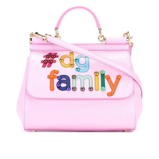 Preload https://item4.tradesy.com/images/dolce-and-gabbana-miss-sicily-medium-pink-leather-baguette-23973718-0-0.jpg?width=440&height=440