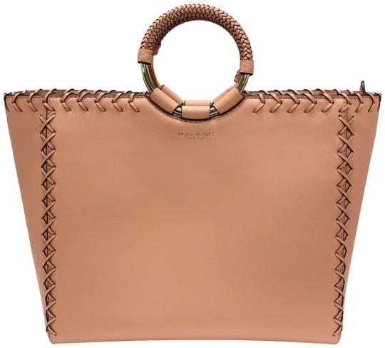 Preload https://item5.tradesy.com/images/henri-bendel-marquis-laced-satchel-pink-leather-tote-23973724-0-1.jpg?width=440&height=440