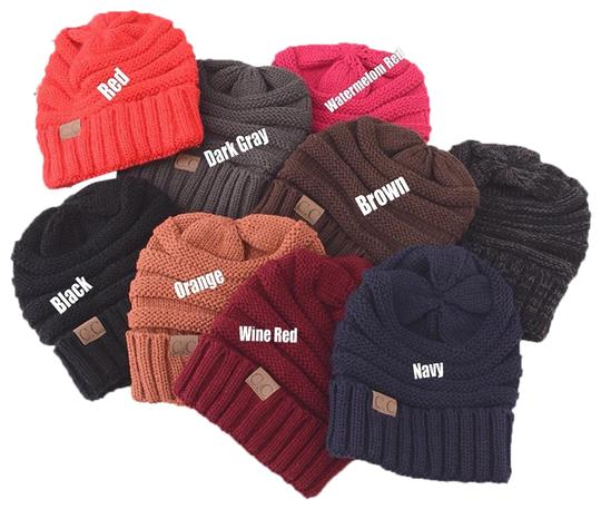 Preload https://item2.tradesy.com/images/cc-brand-autumn-and-winter-cable-knit-beanies-hat-23973731-0-3.jpg?width=440&height=440