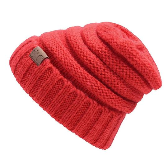 CC CC Brand Autumn and Winter Cable Knit Beanies